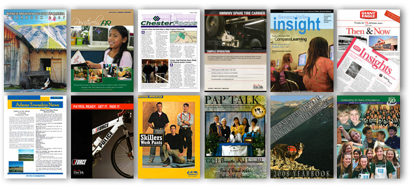 Annual Reports, Newsletters, Magazines, Catalogs, Advertising Combos, Flyers & Inserts Image